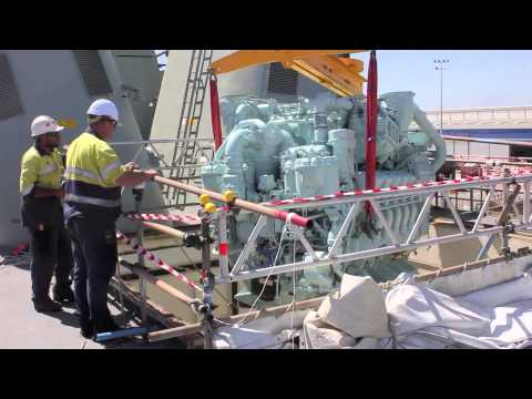 Engine Replacement & Install for Dept. of Defence - IKAD Engineering