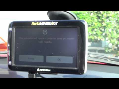 Navman Vs TomTom GPS Maps For Cars Directions Review Speed Camera Toll