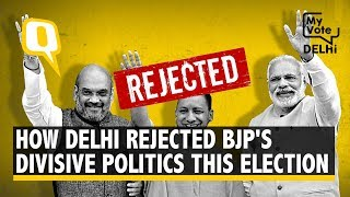Delhi Elections 2020: How People Rejected BJP's Divisive Politics | The Quint
