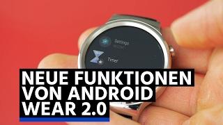 Neue Funktionen von Android Wear 2.0