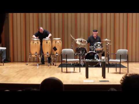 Bill Kreutzmann & Jason Hann Drumming at Book Signing 5/19/15