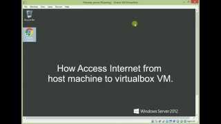 VirtualBox - Enable Internet Access Host to Guest