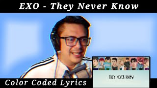 EXO - THEY NEVER KNOW sound engineer react