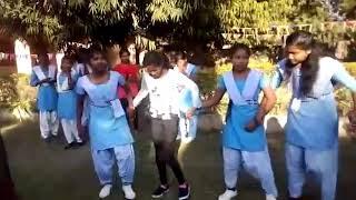 Garposh high school saraswati puja dance video