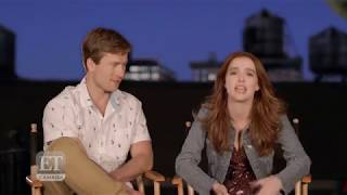 Interview about the movie 'Set It Up' with Zoey Deutch & Glen Powell - ET Canada