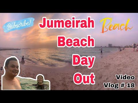 Tara ng Mag Beach (Jumeirah's  Beach Day Out)Video Vlog # 18