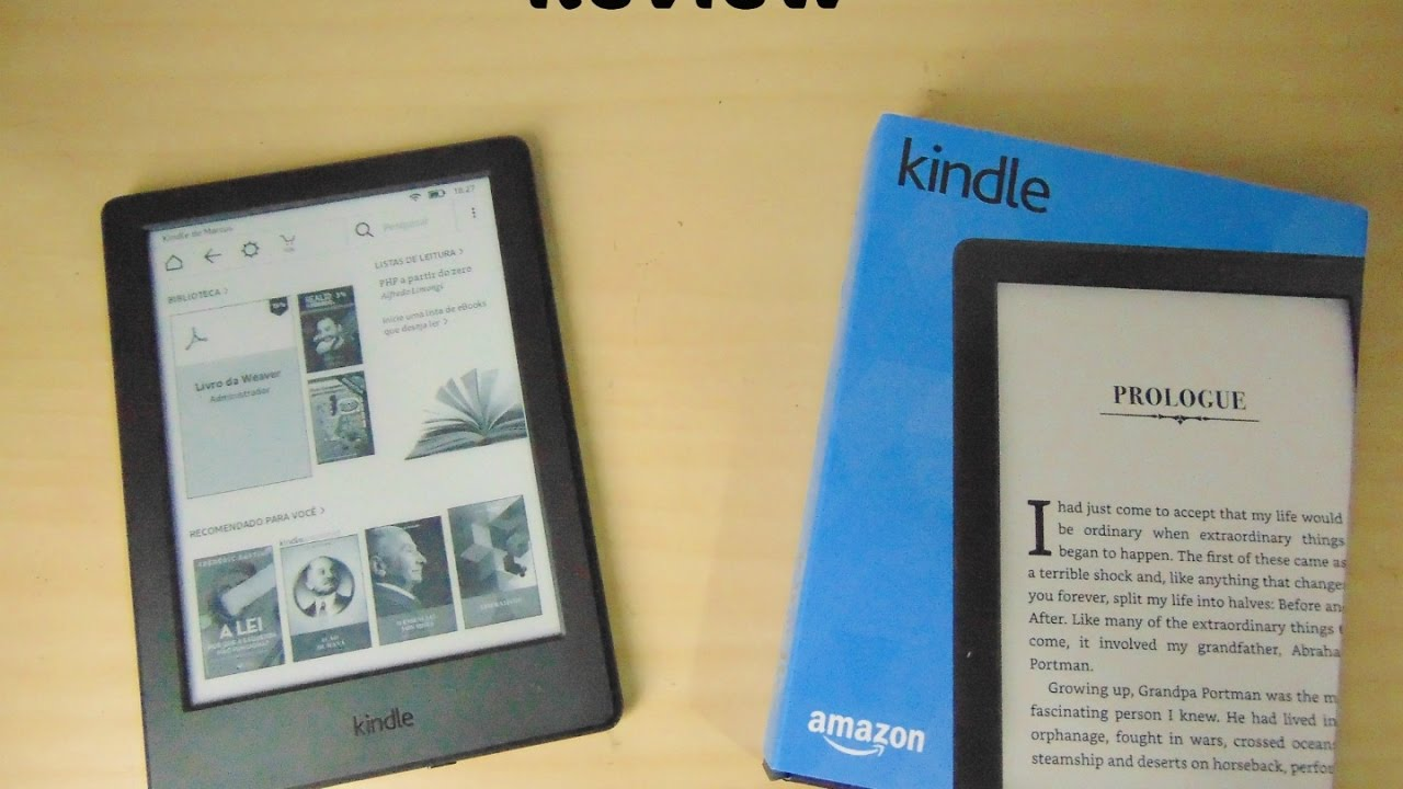 Review do Kindle - 8ª geração - YouTube f09eb6f37d