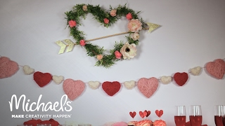 DIY Galentine's Day Wall Decor | Michaels