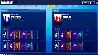 *NEW* TRADING SKINS UPDATE in Fortnite! - Fortnite Battle Royale Trading & Gifting ITem Update