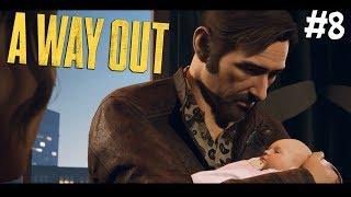 A Way Out #8 - У ВИНСЕНТА РОДИЛСЯ РЕБЕНОК (БЕЗУМИЕ В БОЛЬНИЦЕ)