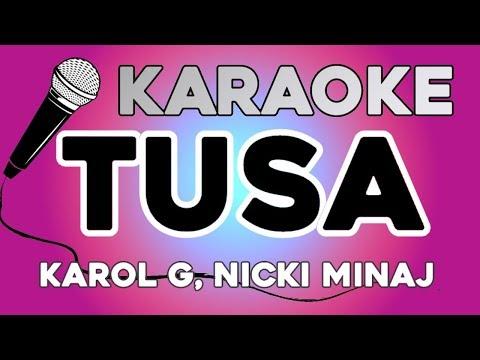 KARAOKE (Tusa - Karol G, Nicki Minaj)