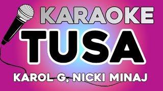 Baixar KARAOKE (Tusa - Karol G, Nicki Minaj)