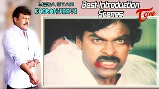 Mega Star Chiranjeevi Best Introduction Scenes | Mega Star Birthday Special