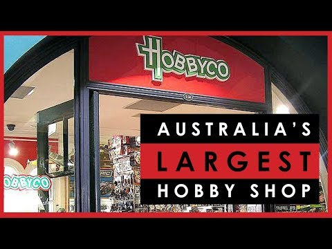 Visiting HobbyCo in Sydney, Australia's largest scale model hobby shop