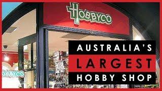 Visiting HobbyCo in Sydney, Australia's largest scale model hobby shop
