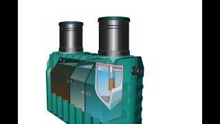 пошаговое видео установки септика Танк своими руками. Installation of the septic