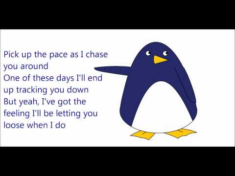 Owl City - I'm Coming After You ~ HQ (Lyrics and Penguin)