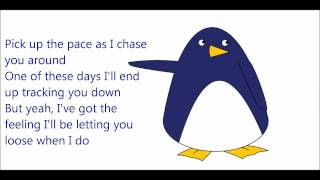 Repeat youtube video Owl City - I'm Coming After You ~ HQ (Lyrics and Penguin)