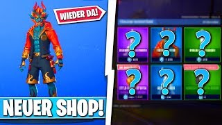 ❌FIRELÄUFER SKIN back in shop!! 😱 - NEW OBJECT SHOP in FORTNITE is DA!!