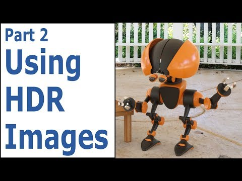 Blender Tutorial: Using Your Own HDR Images (HDRI)