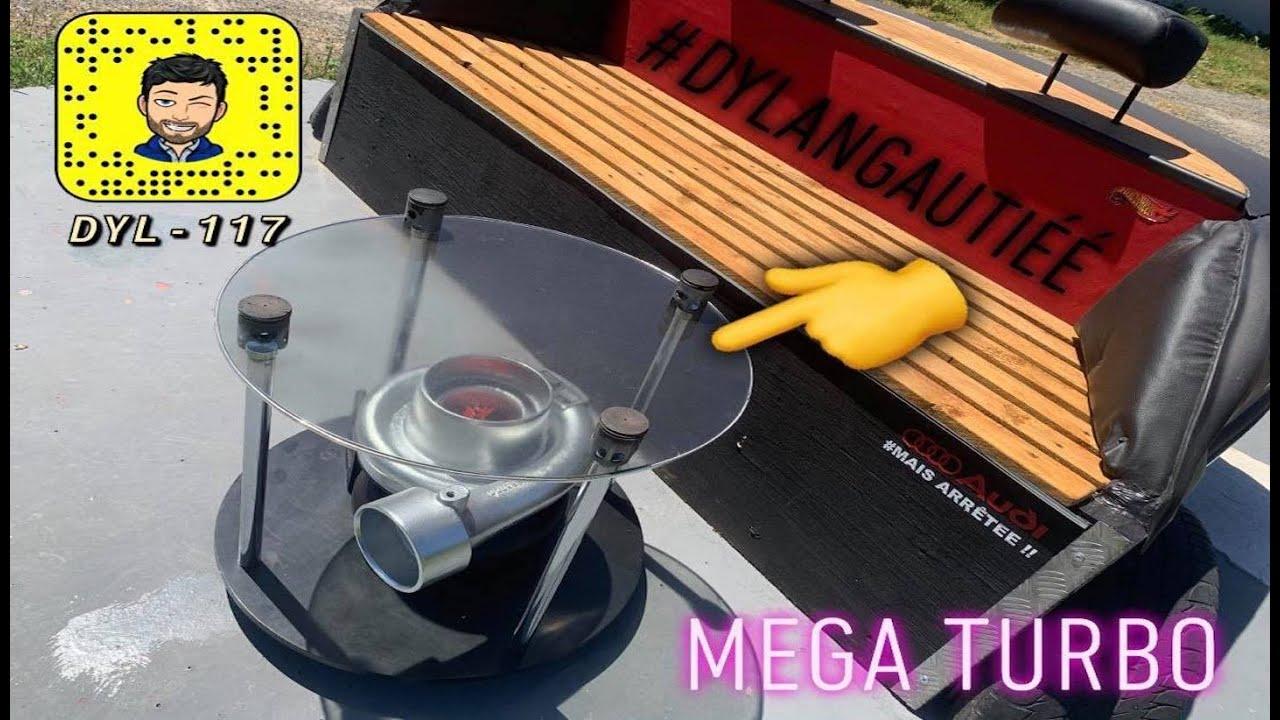 TuTo table basse avec un MEGA TURBO