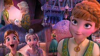 Frozen fever День рождения Анны