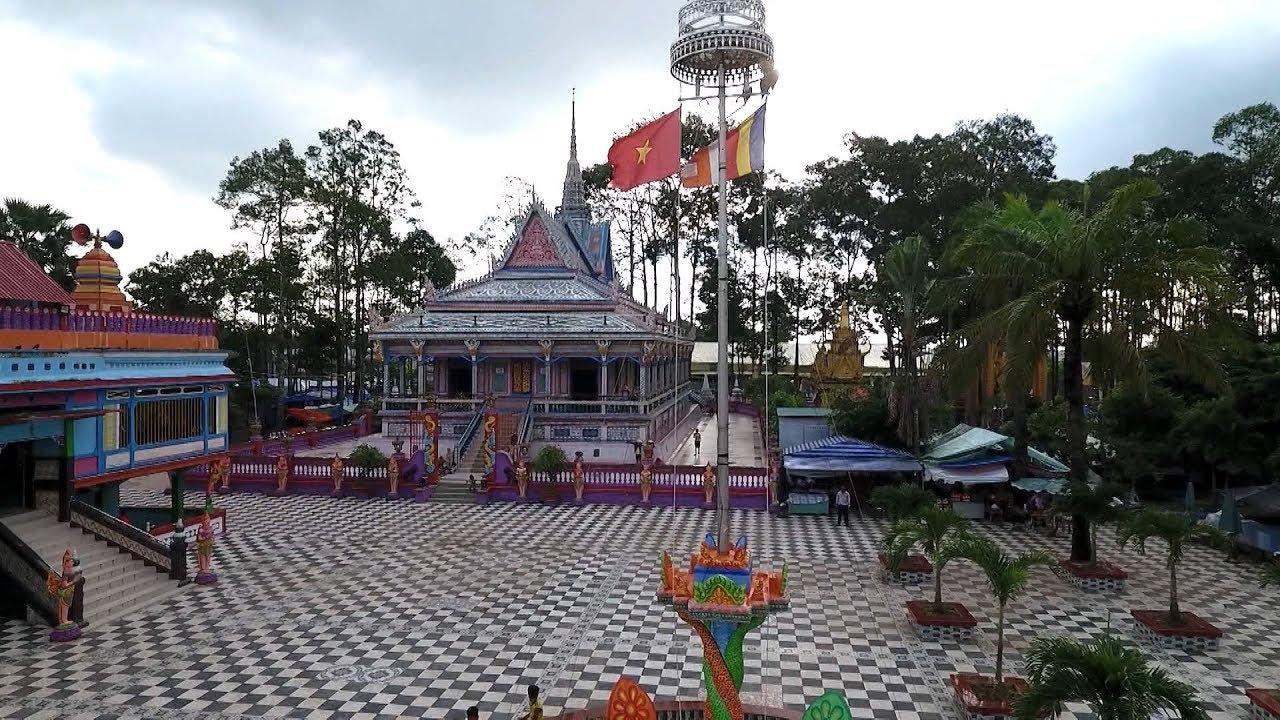 Phóng sự : Kiến trúc chùa Kh'mer Nam Bộ
