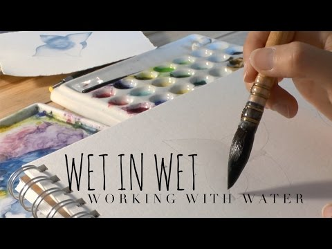 How to Use Watercolor: Controlling the Water