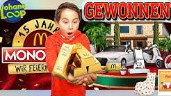 JACKPOT GEWINNEN 🏆: Mc Donalds Monopoly | Mukbang | 24h | Johann Loop