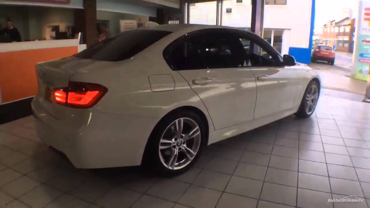 bmw 3 series 320d m sport white 2015 youtube. Black Bedroom Furniture Sets. Home Design Ideas