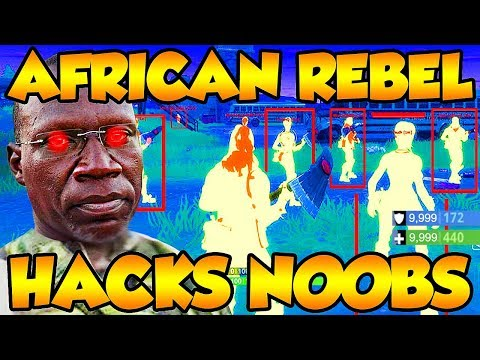 African Rebel Kony HACKS ANGRY NOOB On Fortnite Battle Royale! (Funny Fortnite Trolling)