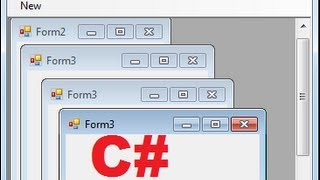 C# Tutorial 83: How to use Multiple-Document Interface (MDI) in Windows Forms C#