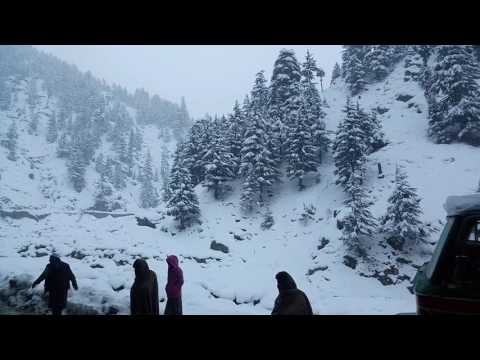 Chitral beautiful documentary in snowfall