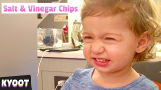 That DOES NOT Taste Good! 🤣  | Baby Cute Funny Moments | Kyoot