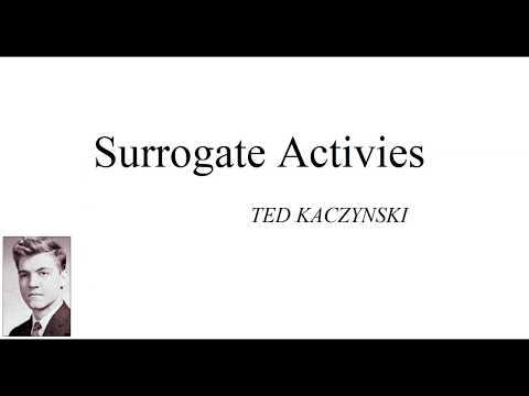 Ted Kaczynski On Satifaction In An Industrial Society