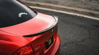 Honda Civic MK5 5th Gen Coupe Rear Trunk Spoiler Ducktail Wing Boot Lid Lip Tail