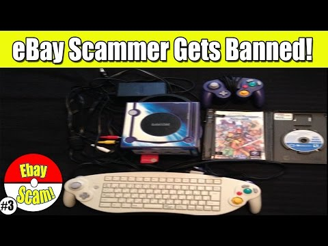 eBay Scammer Gets Banned On Video Game Lot!