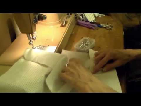 How to make a tailored placket (gauntlet)