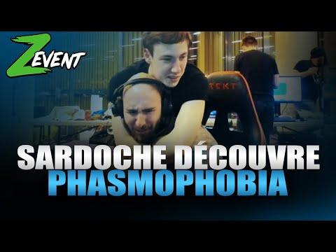 Vidéo d'Alderiate : [FR] ALDERIATE & SARDOCHE - ZEVENT 2020 - PHASMOPHOBIA AVEC LE BRO SARDO