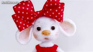 Амигуруми: схема Мышка. Игрушки вязаные крючком - Free crochet patterns.