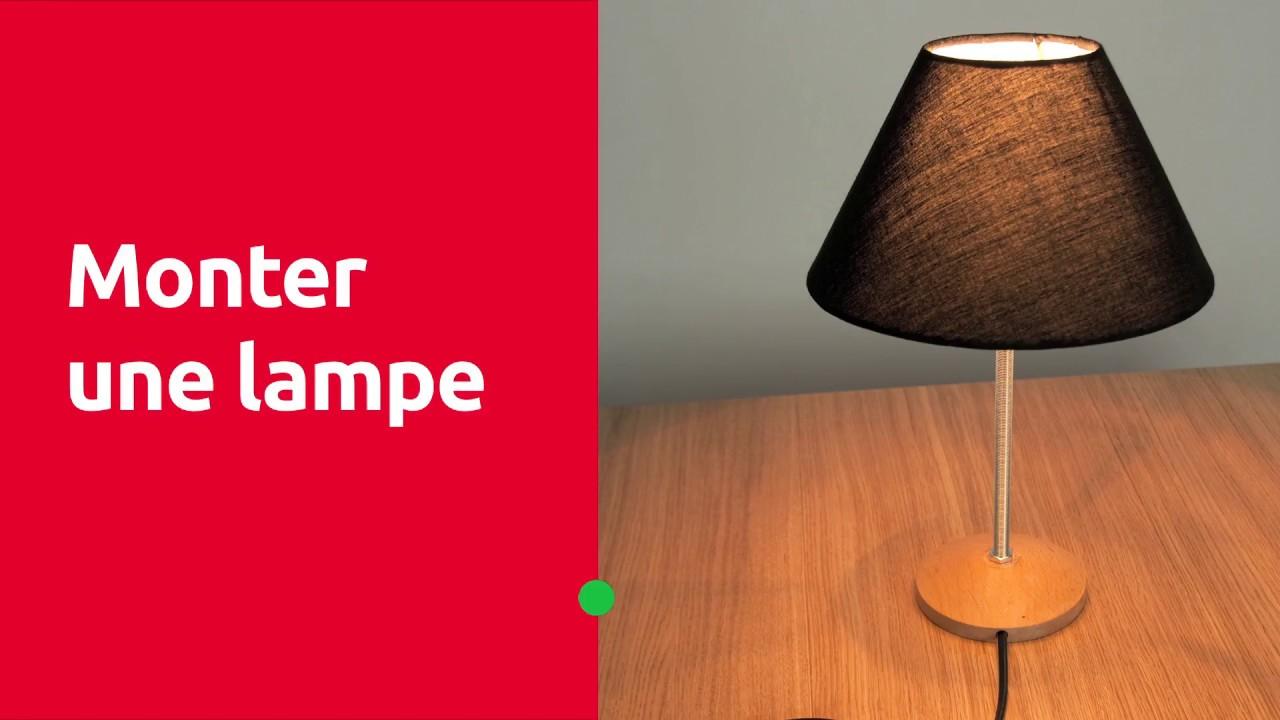 Cordon Electrique Pour Lampe monter une lampe