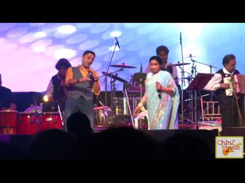 Ek main aur ek tu | Live with Asha Bhosle | Kolkatta 26th Jan 2016
