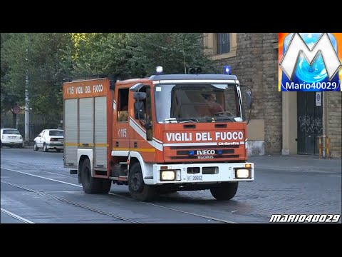 [9min emergency responses] Rome Police / Fire department / EMS