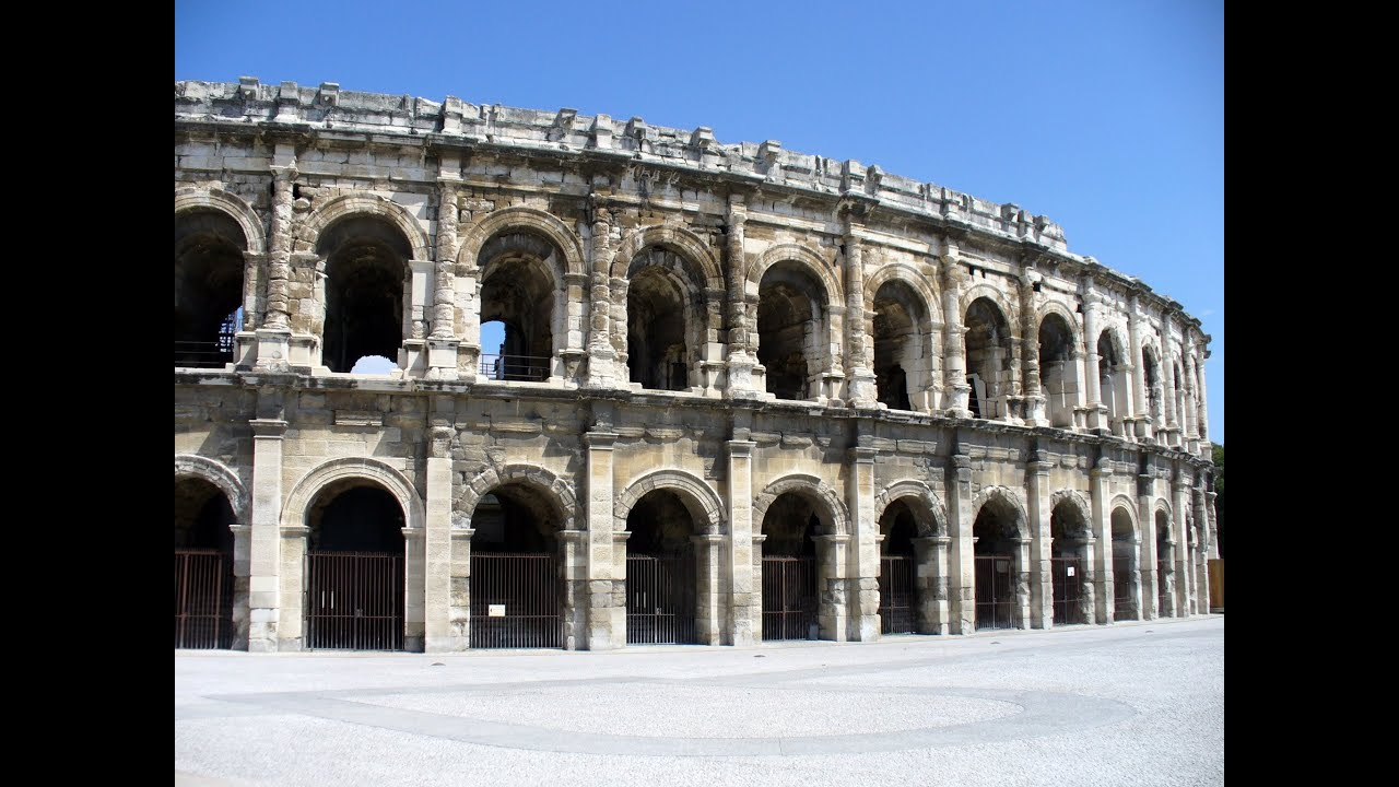 Arena Of Nimes Nimes Languedoc Roussillon France Europe Youtube