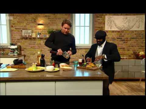 Gregory Porter talks being a former chef on Saturday Kitchen Live interview HQ