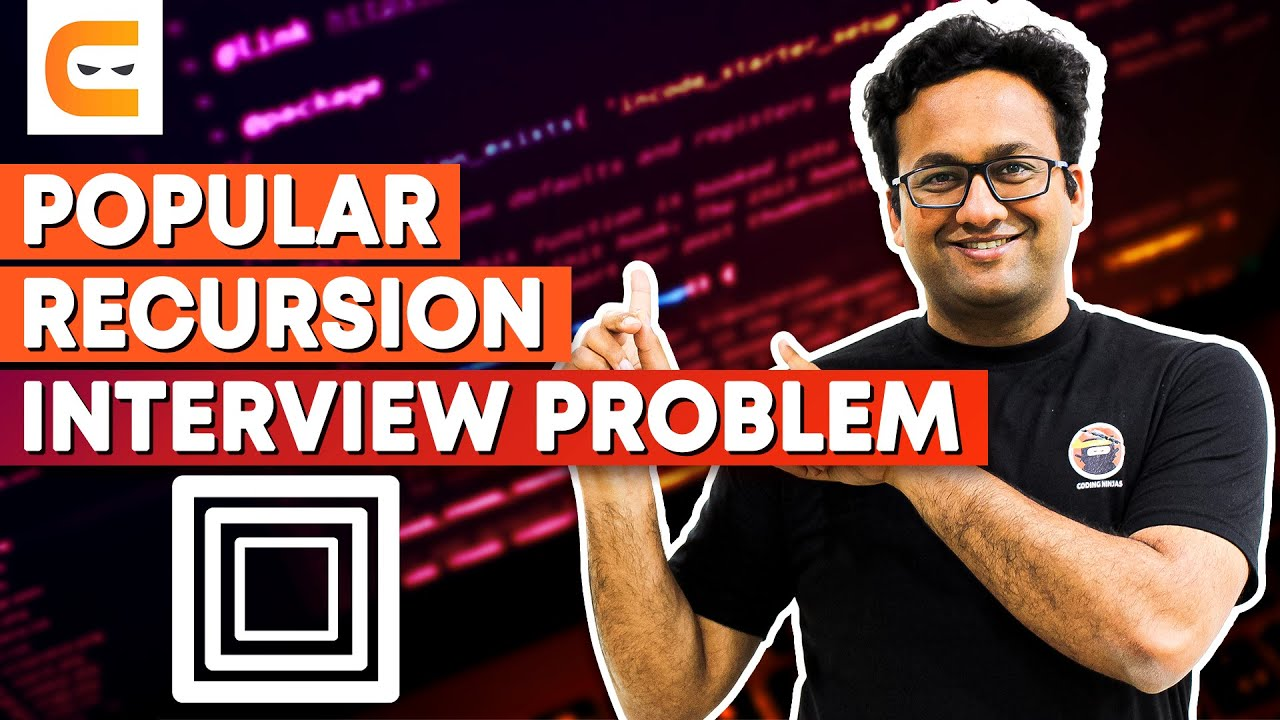 Recursion Interview Problem : Print All Keypad Combinations Solution Code