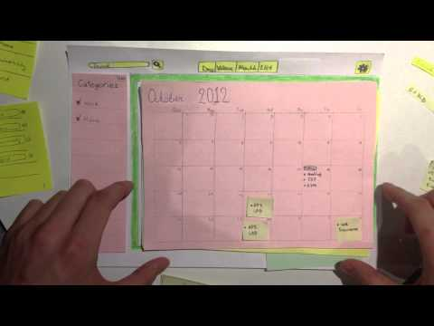 IS3 Calendar Paper Prototype