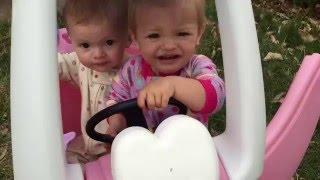 Twins turn 16 months!