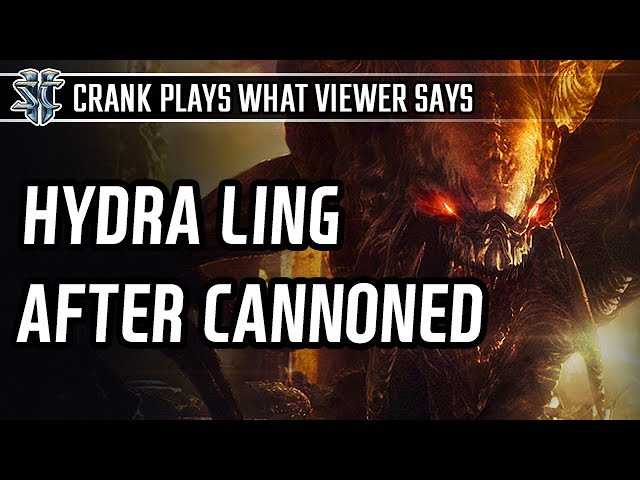 Hydra ling after got cannon rushed in Zerg vs Protoss l StarCraft 2: Legacy of the Void l Crank
