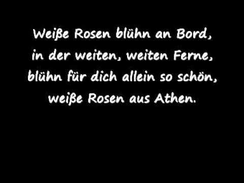 015 - Weiße Rosen aus Athen - Im Stile von Nana Mouskouri - KURZVERSION